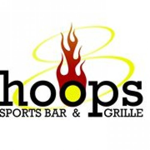 Hoops Bar and Grill Logo