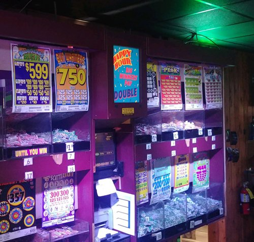 Play Pull Tabs at Hoops in Yakima