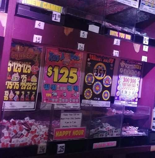 Place to play Pull Tabs in Yakima